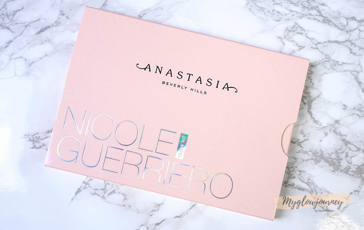 ABH feat. Nicole Guerriero Glow Kit Swatches and Review
